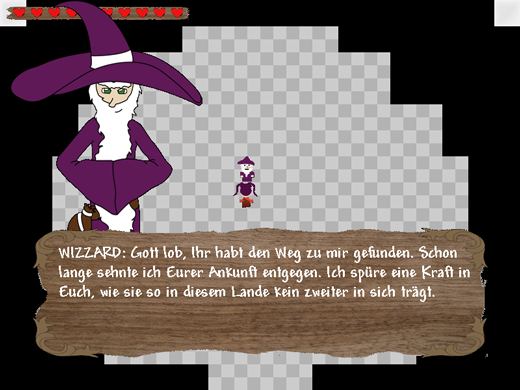 the legend of ethos game screenshot castle wizard