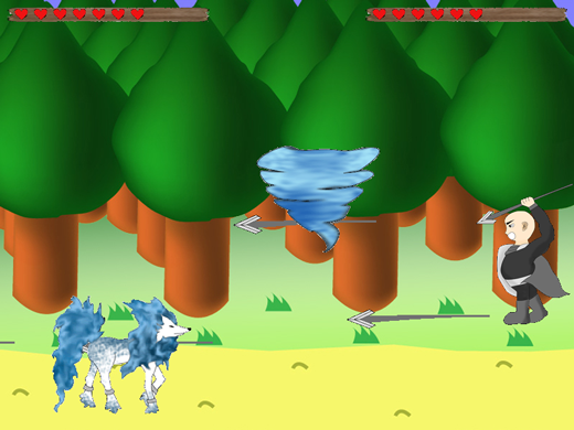 the legend of ethos game screenshot fight gameplay action
