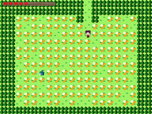 the legend of ethos game screenshot level flowers